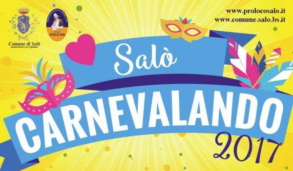 """""""Carnevalando 2017"""" in Salò"""