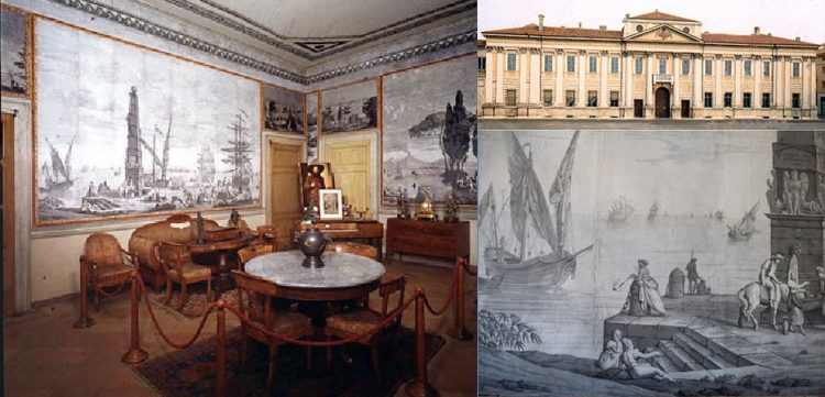 Palazzo d'Arco: Anfang März werden die Restaurierungsarbeiten am Hofer-Saal präsentiert