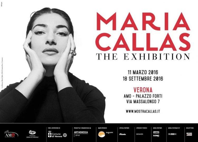 """""""Maria Callas: the Exhibition"""" in Verona"""