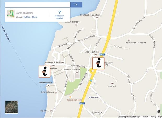 In Malcesine wurde neuer Info-Point für Feriengäste eröffnet