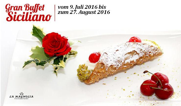 Eine angenehme sizilianischen Abendessen im Herzen des Gardasees