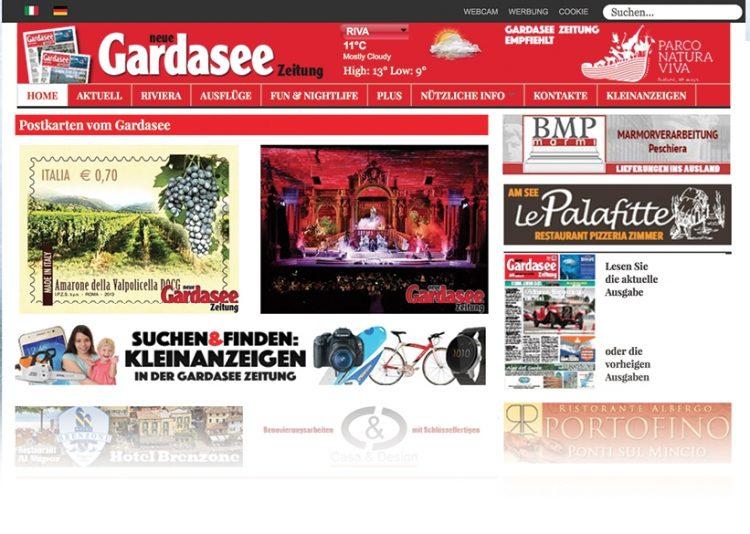 Suchen&Finden: Kleinanzeigen in der Gardasee Zeitung