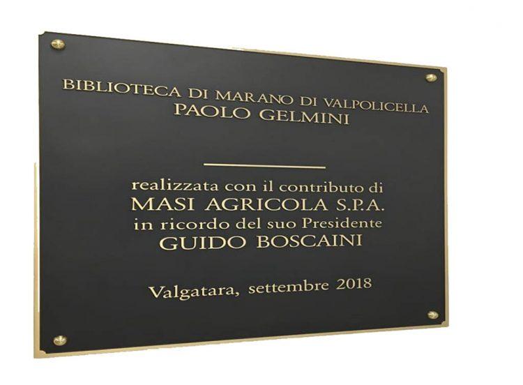 In Marano wird die neue Bücherei eingeweiht