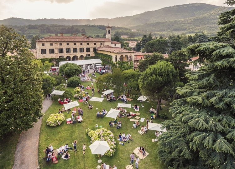 Sommer-Festival im Franciacorta-Anbaugebiet