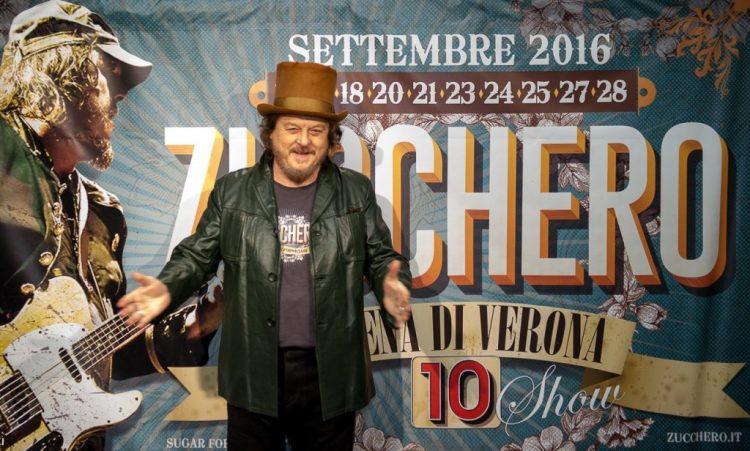 Zucchero in der  Arena von Verona