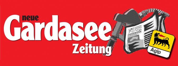Gardasee Zeitung #2 ist auch auf ausgewählten AGIP-Tankstellen in Bayern, Süd-Deutschland, Frankfurt und Berlin