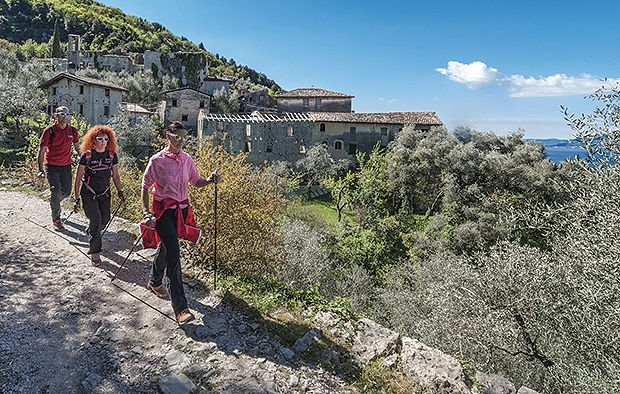 Nordic Walking mit Genuss in Brenzone sul Garda
