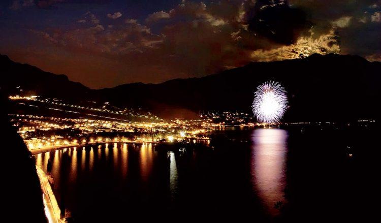 Neujahrs-Schwimmen in Riva del Garda