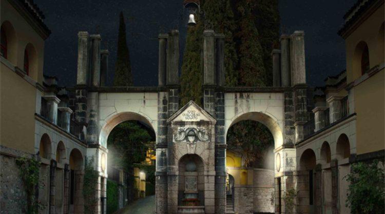 Vittoriale: Eingangsportal wird restauriert