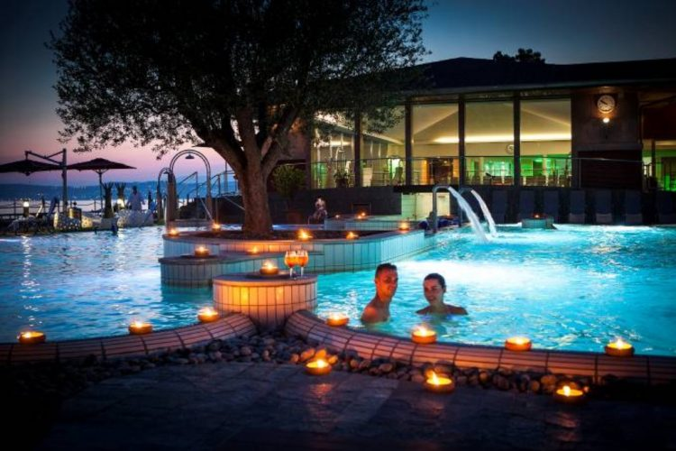 Silvester im Aquaria-Wellness-Zentrum in Sirmione