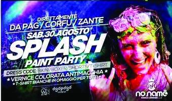 Instagram und Splash  Paint Party im NoName