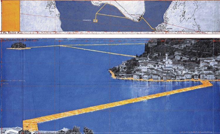 """Christo und seine """"Floating Piers"""""""
