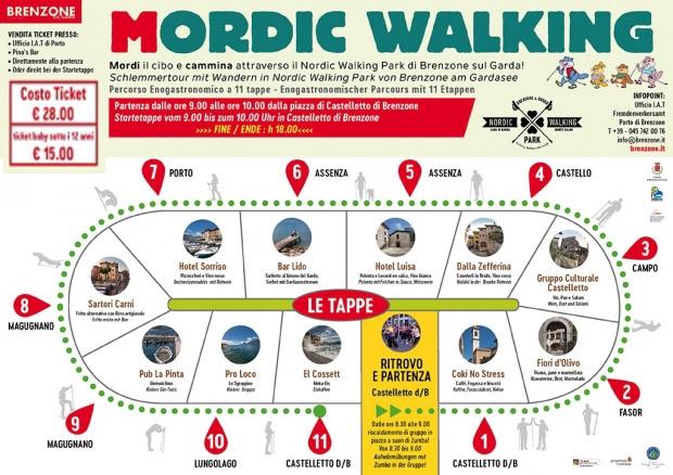 Brenzone: Mordic Walking wurde erneut verschoben und wird während der Santa Caterina-Messe veranstaltet