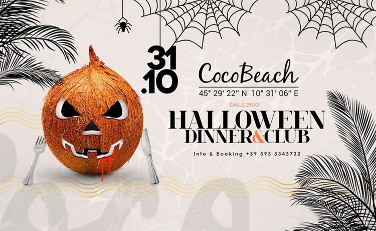 Halloween Dinner & Club im Coco Beach