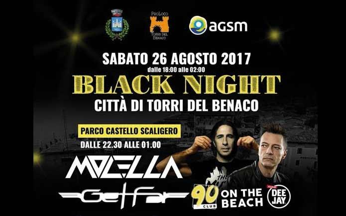 Torri del Benaco: Black Night  mit viel Musik