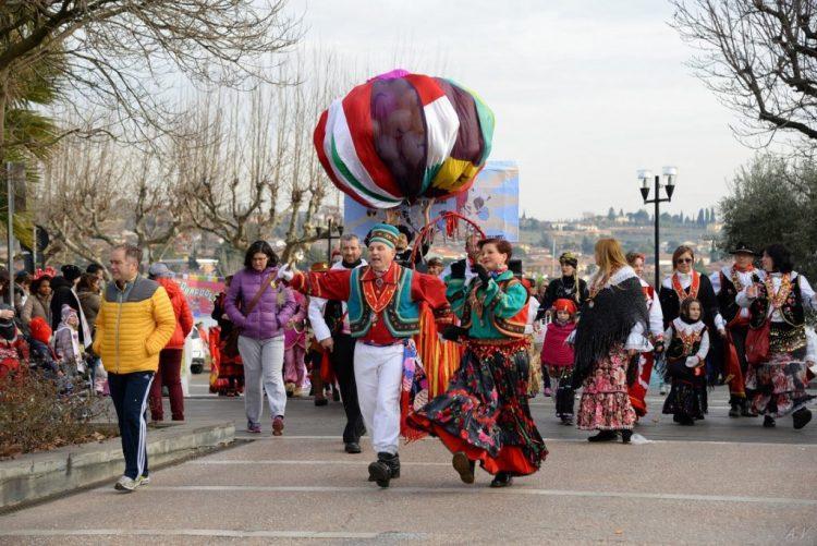 In Bardolino wird wieder der Karneval von Bacchus und Arianna gefeiert