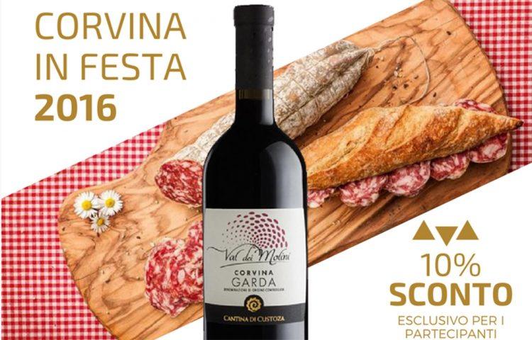 Die Cantina di Custoza feiert den Corvina Garda Doc