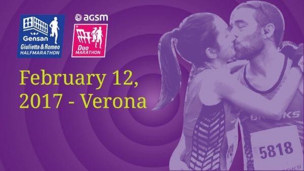 Verona lädt zum 10. Gensan Giulietta & Romeo Half Marathon
