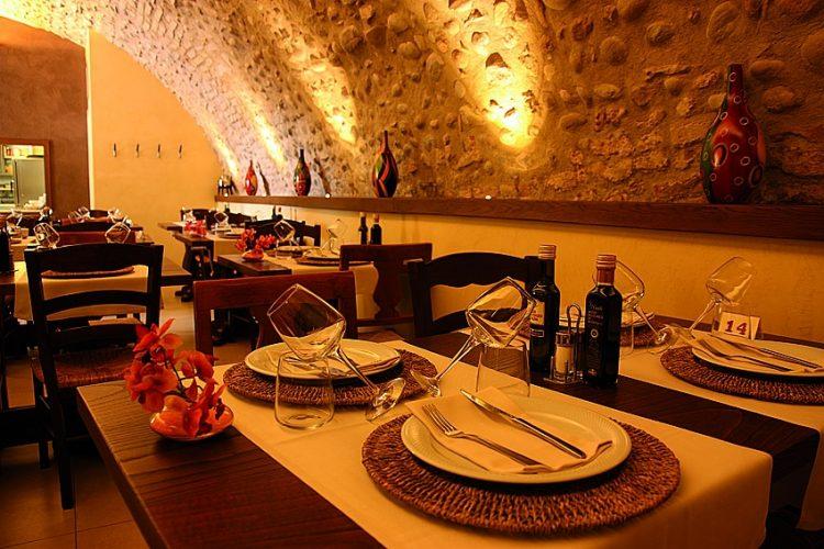 Weihnachtsschmaus in der Taverna del Borgo
