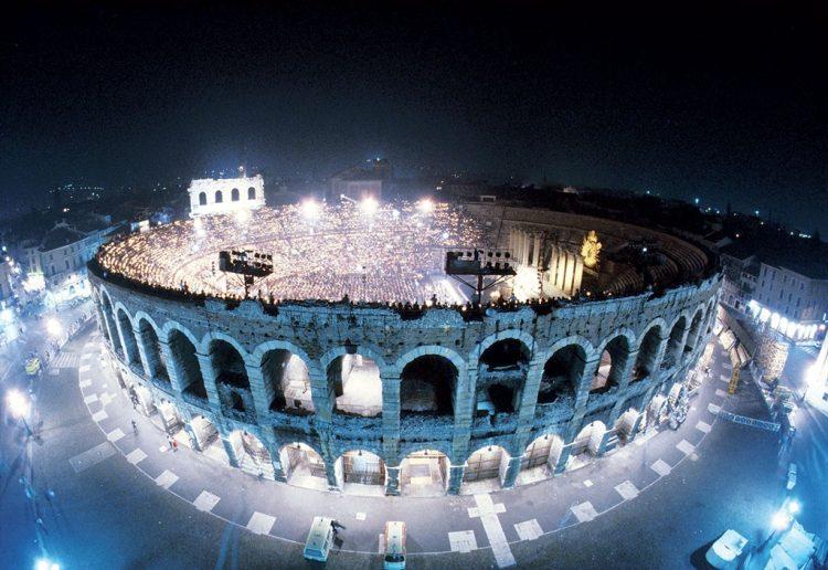 Opernfestspiele 2014 in der Arena von Verona