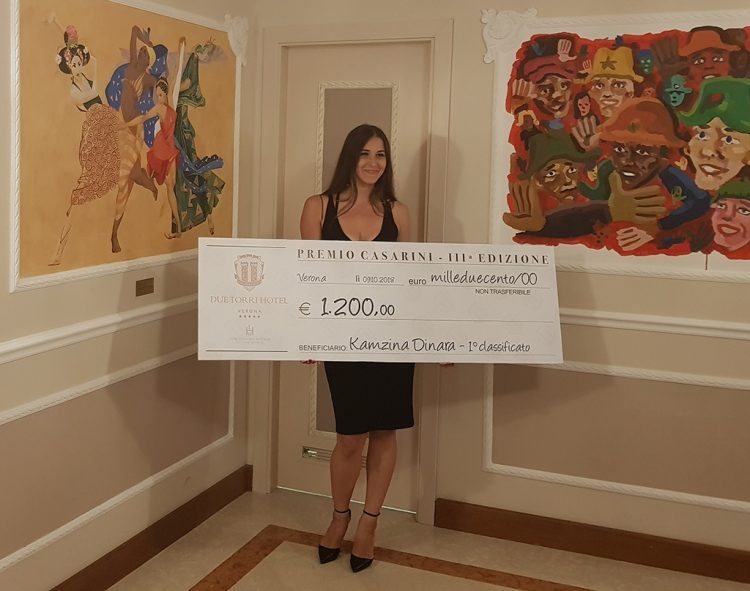 Verona: Junge russische Künstlerin mit dem Casarini-Preis ausgezeichnet