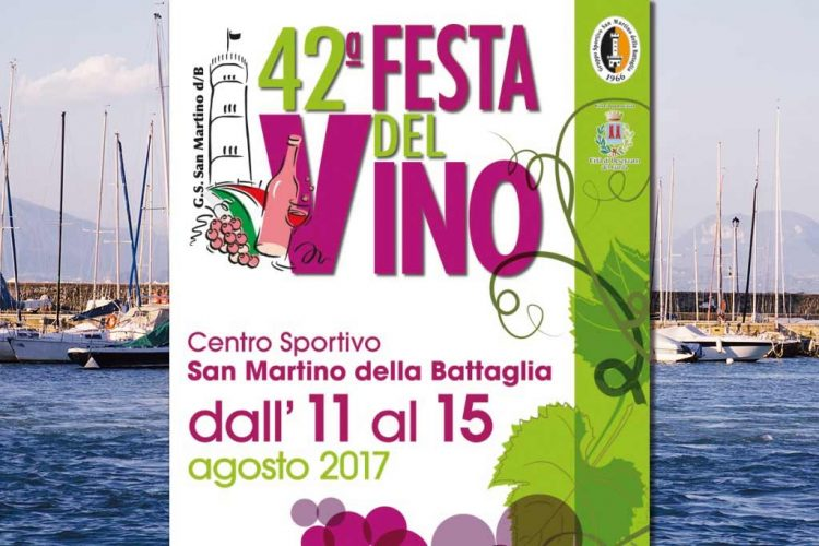 In Desenzano wird das 42. Weinfest organisiert