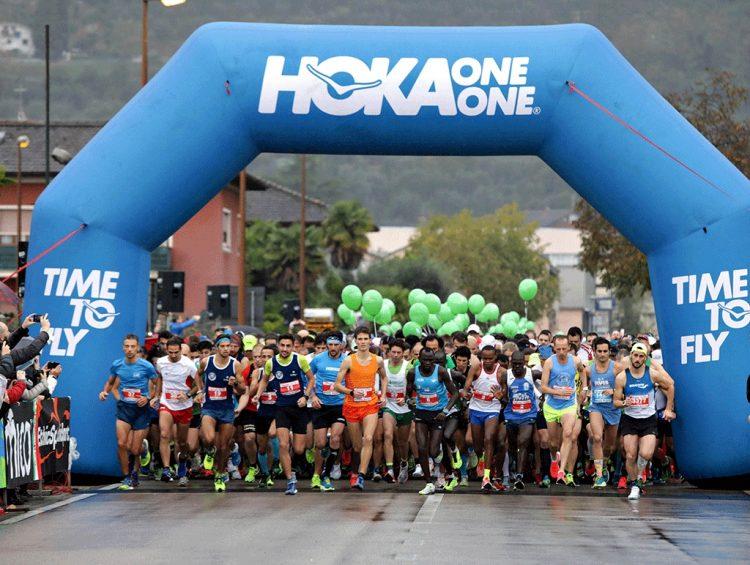 Garda Trentino Halbmarathon war ein Erfolg