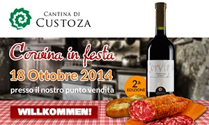 Die Cantina di Custoza feiert den Corvina Garda Doc Val dei Molini 2012