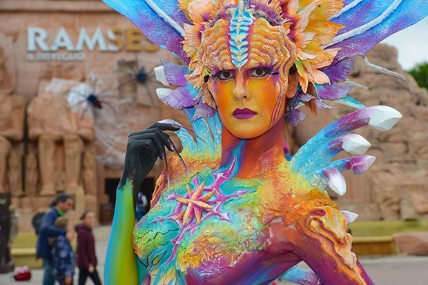 Highlight für die Besucher am Eröffnungstag von Gardaland Magic Halloween
