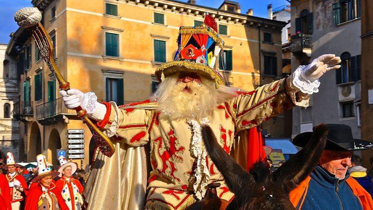 In Verona hat  die närrische Zeit begonnen