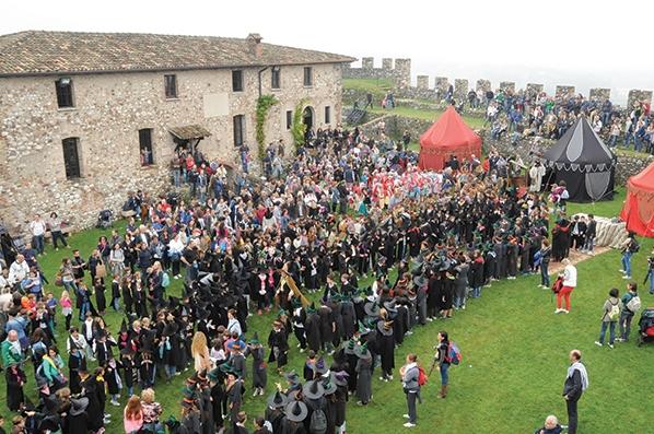 Harry Potter-Tag in der Rocca von Lonato