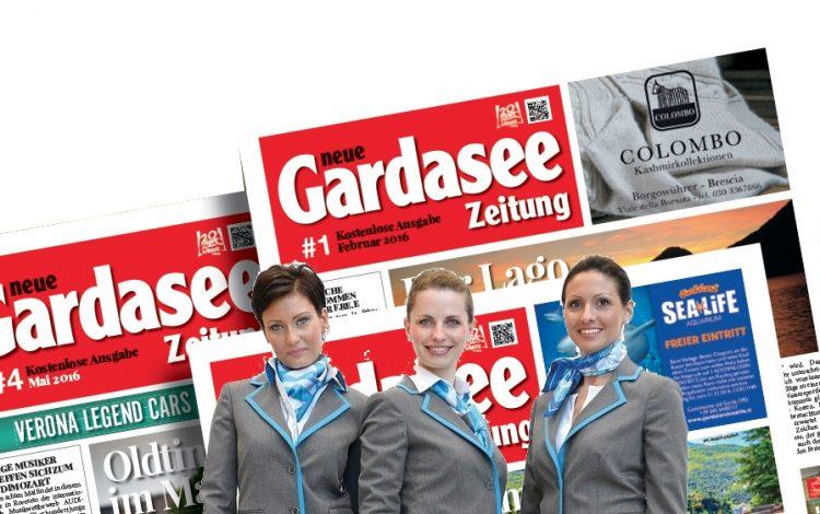 Die Gardasee Zeitung fliegt mit Air Dolomiti