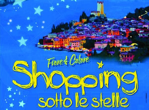Shopping unter den Sternen in Malcesine