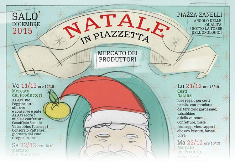 Salò: Weihnachtsmarkt im Zeichen der typischen Produkte