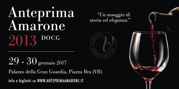 In Verona, Palazzo della Gran Guardia: Anteprima Amarone 2013