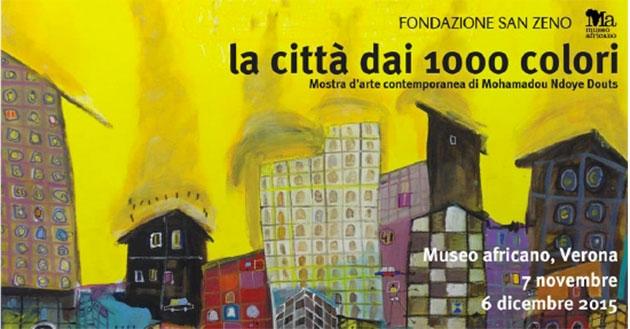 """Ausstellung: """"Die Stadt der tausend Farben"""""""