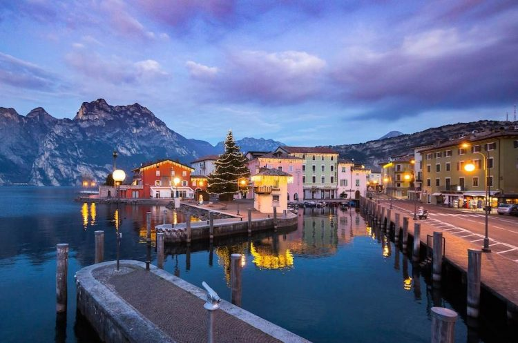 Besuch beim Weihnachtsmann in Riva