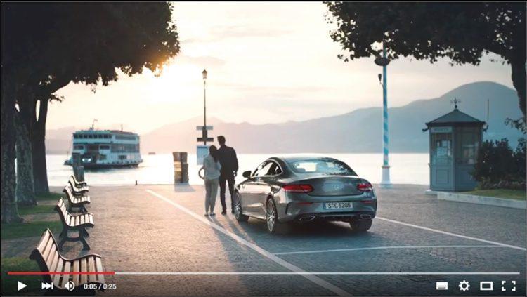 Torri: Mercedes dreht  am Hafen Werbespot