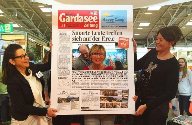 Die Gardasee Zeitung auf der FREE 2018