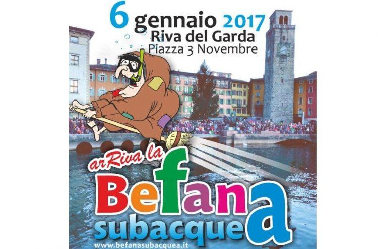 """In Riva del Garda erwartet man am 6. Januar die """"Unterwasser-Befana"""""""