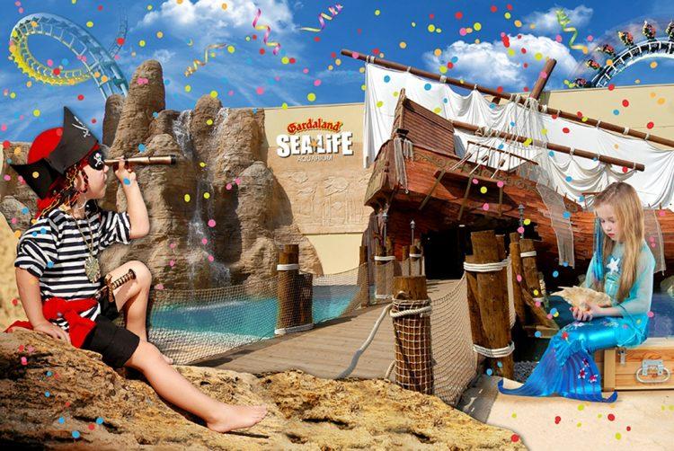 Karneval im Sea Life Aquarium