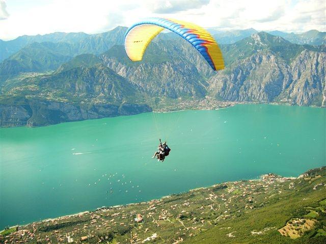 Tignale: Wie Balkon über dem Lago