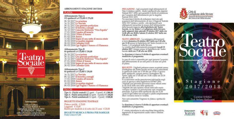 Castiglione delle Stiviere: Klassik, Oper und Theateraufführungen
