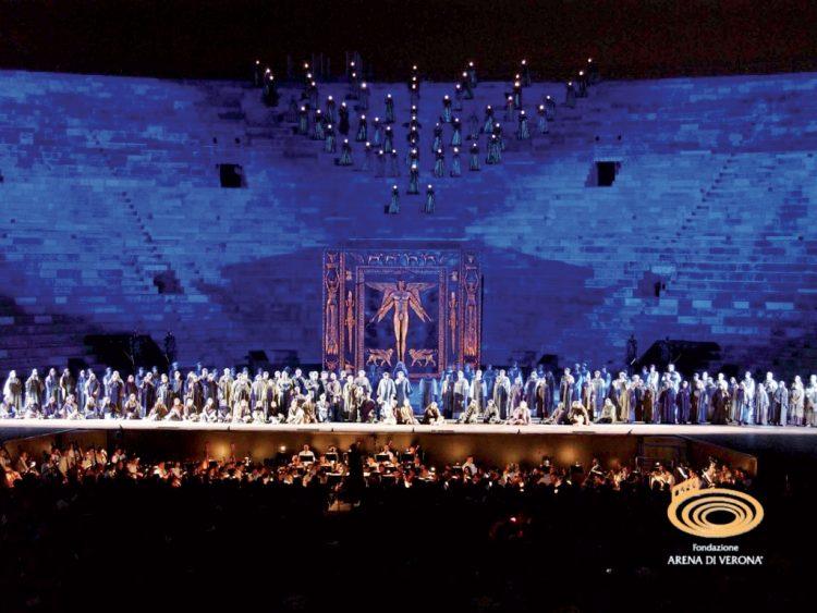 Verona: 95. Opernsaison beginnen am 23. Juni 2017