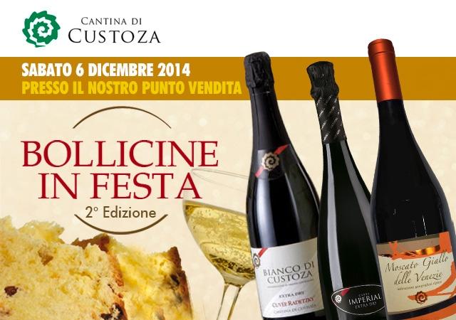"""Cantina di Custoza lädt zu """"Bollicine in Festa"""""""