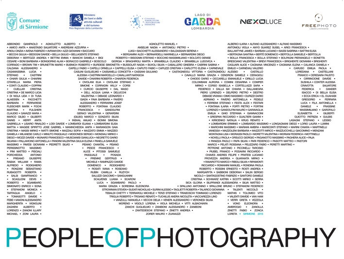 Sirmione: Pop – People of Photography