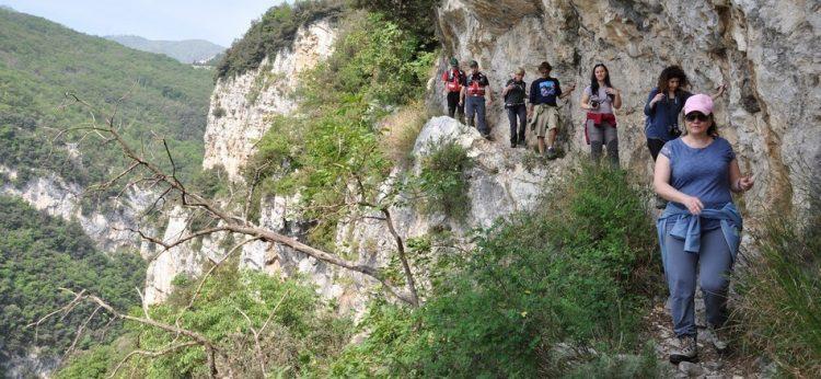 Wanderweg Porto-Pieve kann wieder genutzt werden