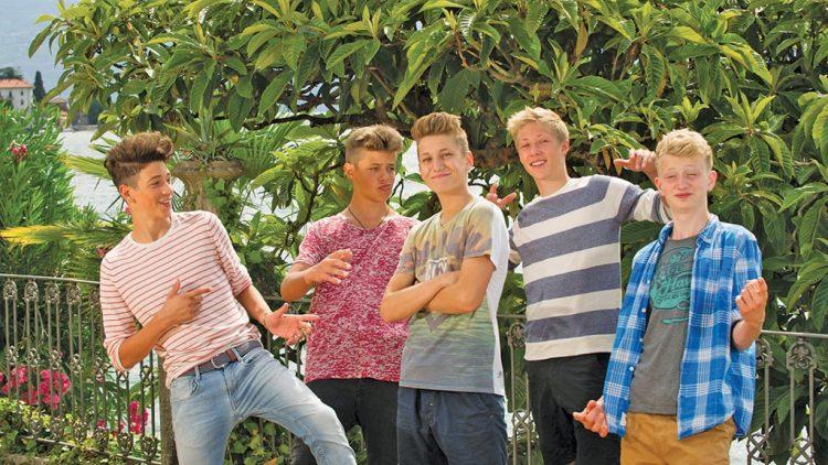 Kika dreht zweite Staffel  der Jungs-WG am Gardasee