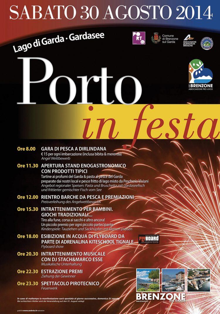 In Porto bei Brenzone wird gefeiert
