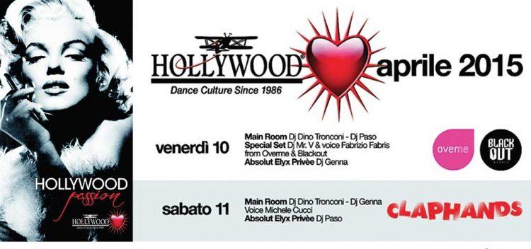 Die Veranstaltungen im Hollwood Dance Club